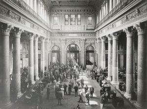 Börse historisches Bild