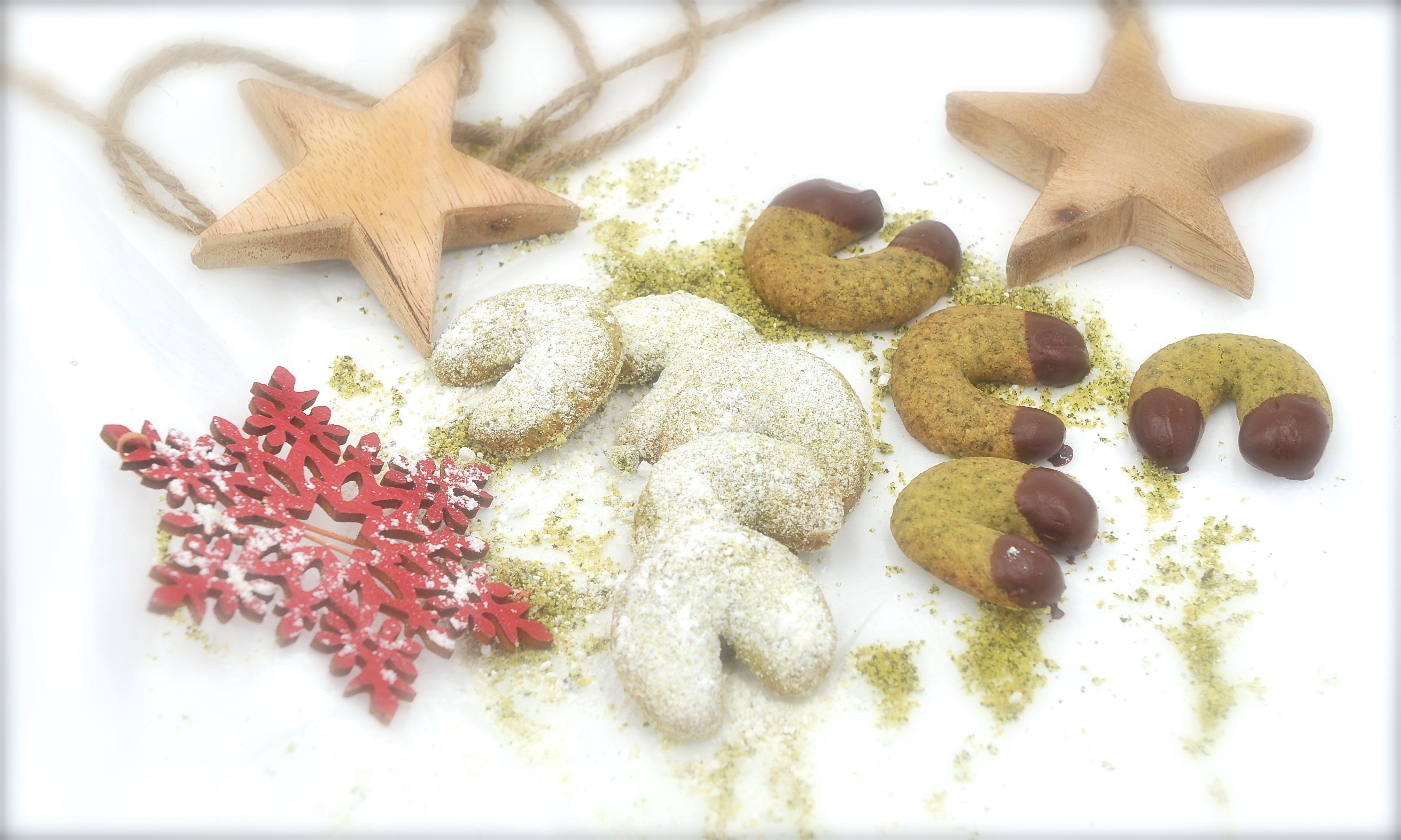 Weihnachtsbäckerei mit Kürbiskernen