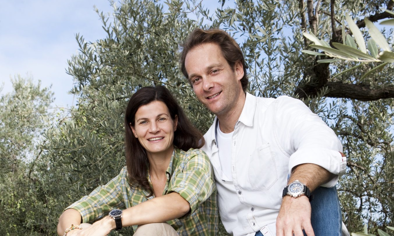 Margit und Richard Schweger von Noan Olivenöl