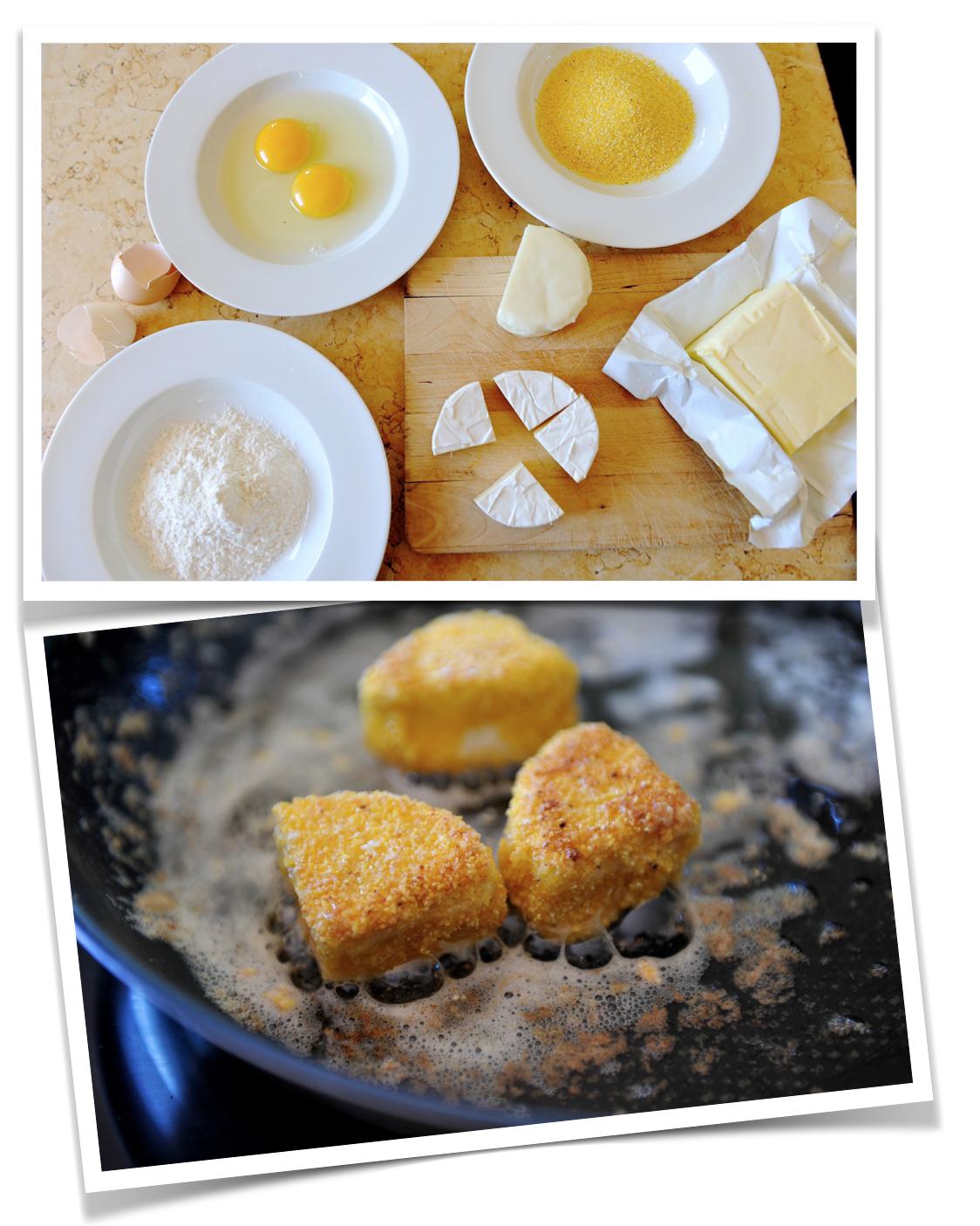 Käse Mehl Ei Maisgrieß